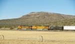 Distributed Power BNSF 5344 and 1095 SB on the Oregon Trunk